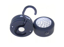 Am-Tech 24 LED Round Magnetic Work Light Torch