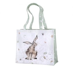 Royal Worcester Wrendale Hare Raising Bag 30cm By 40cm