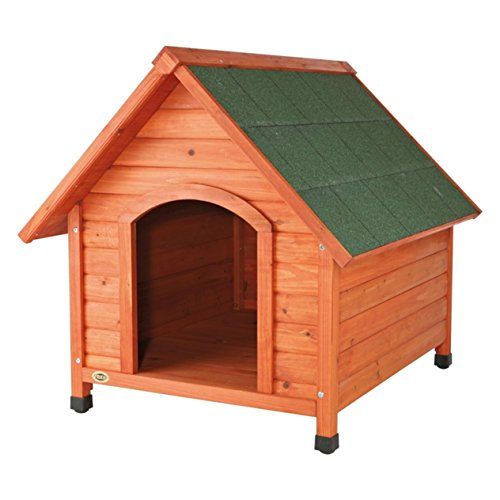 TRIXIE Pet Products Log Cabin Dog House, Small