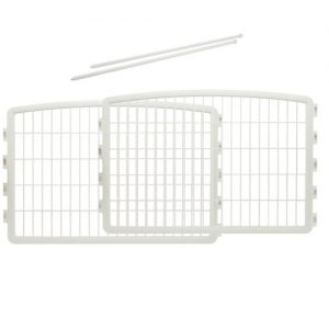 IRIS 24'' Pet Playpen 2 Panel Add-On, White
