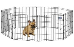 "MidWest Foldable Metal Exercise Pen / Pet Playpen, 24""W x 24""H"