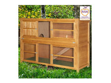 6ft Chartwell Double Luxury Rabbit Hutch