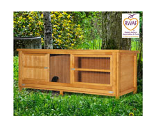 6ft Chartwell Single Luxury Rabbit Hutch