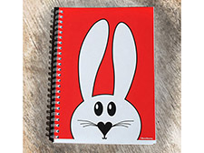 Best4bunny notepad - Red