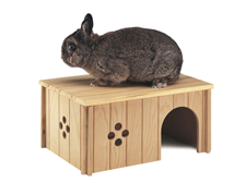 Ferplast Wooden House for Rabbits