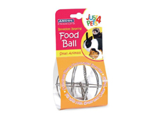Ancol Just 4 Pets Food Holder Ball Toy