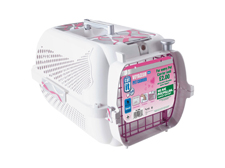Catit/ Dogit Voyageur Cat/ Dog MacMillan Ribbon Carrier pink