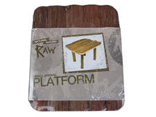 Happy Pet Raw Wooden Platform