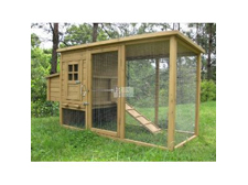 IMPERIAL WENTWORTH LARGE CHICKEN COOP RUN NEST BOX RABBIT HUTCH