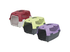 Pet Carrier for Cats Small Dogs or Rabbits - violet/lilac