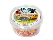 Supa Papaya Pineapple Melange 225ml