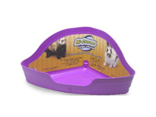 Super Pet Large Hi Corner Litter Tray