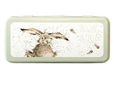 Wrendale Country Set Hare Tin Pencil Case